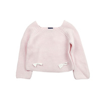 2017 autumn baby clothes knitted sweater designs for baby girls