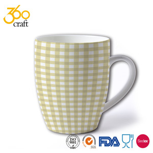 Coffee Cup Set by 360CRAFT Coffee Mug Set Stoneware Coffee Cups with Metal Rack Wire Holder Assorted Colors 6 pcs set