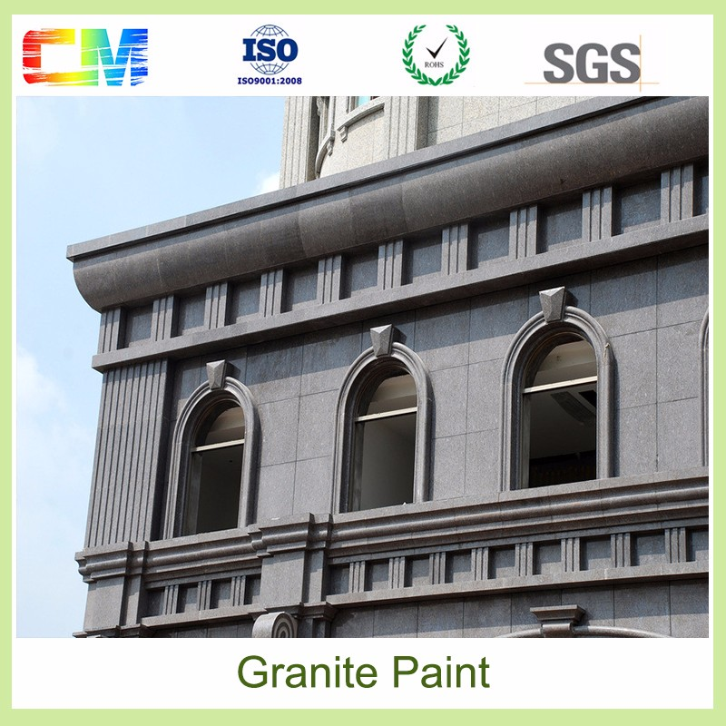15 years guarantee UV proof low VOC water based building coating/ granite stone wall paint