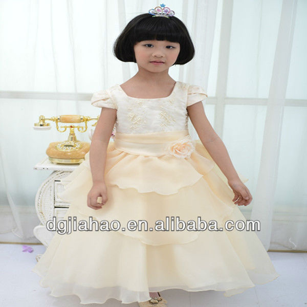 fashion champagne beaded kids dresses pakistan