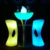 party led light cocktail table 16 color changing RGB glowing party cocktail tables