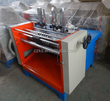 Wide platform die cutting machine with high productivity and high application range