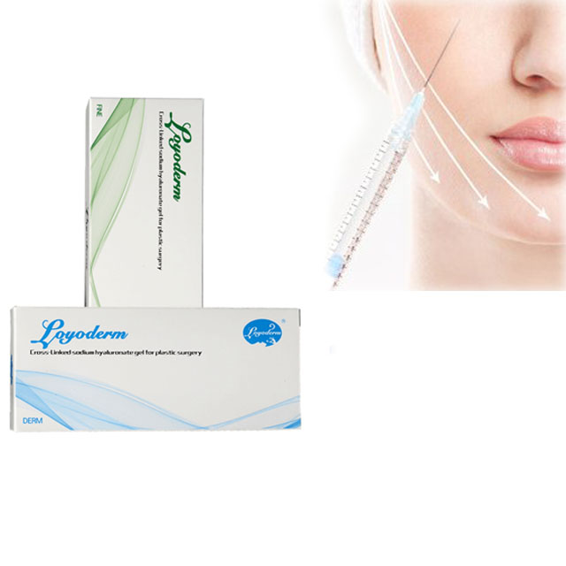 2ml Derm Deep Facial Injectable HA dermal filler