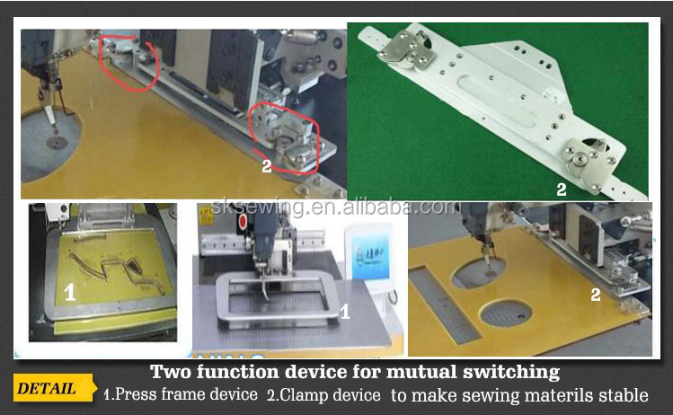 Dongguan sokee electronic pattern industrial sewing machinery