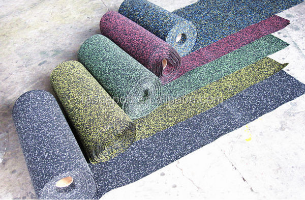 EPDM rubber roll,outdoor rubber matting,Gym rubber roll