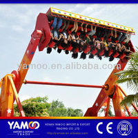 Thrilling Fairground Rides 20 Seats Space Travel ride/ top spin ride