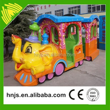 Outdoor playground amusement mini electric rail train