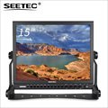 "SEETEC 15"" Aluminum 3G SDI 1024*768 Pro Broadcast hd camera 15 inch display Monitor"