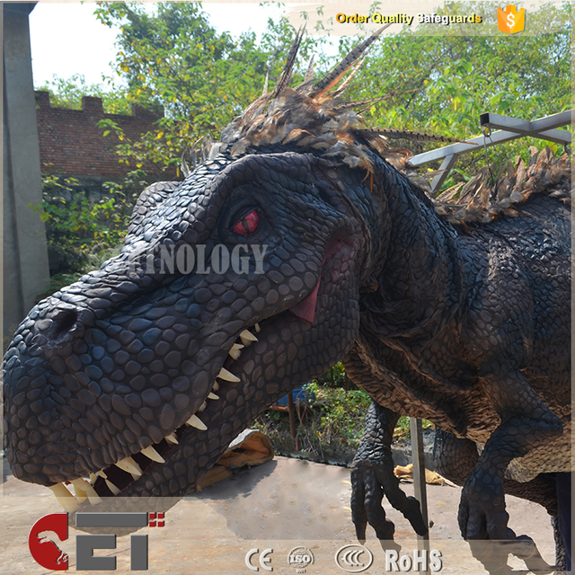 Cet-A-134 dinosaur costume animatronic Artificial dinosaur costume inflatable T rex