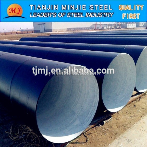 Spiral Welded Steel Pipe Prices in Tianjin MinJie Steel Company