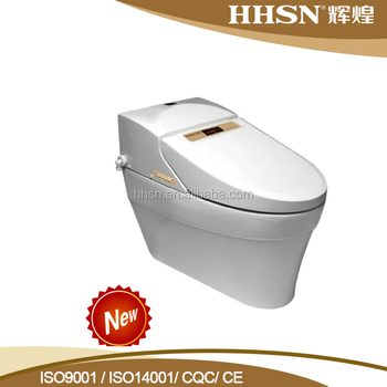 HH6T1807 Modern temperature control ceramic intelligent toilet