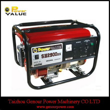 SH2900 2kw gasoline generator with cheap price and high quality for sale