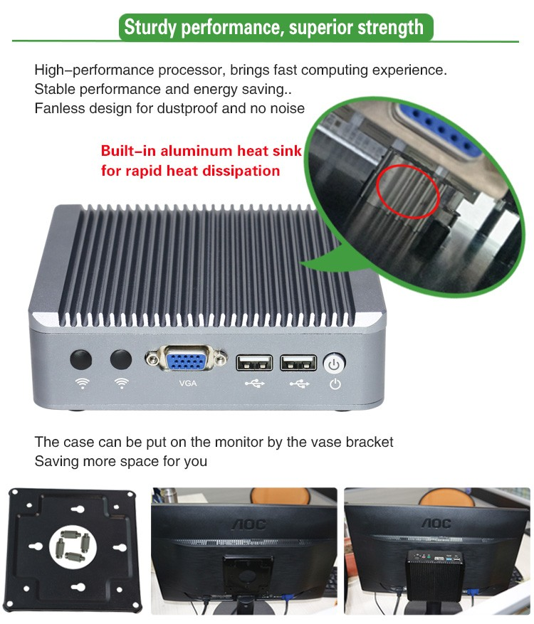 Dual ethernet thin client industrial firewall barebone linux web server in asia