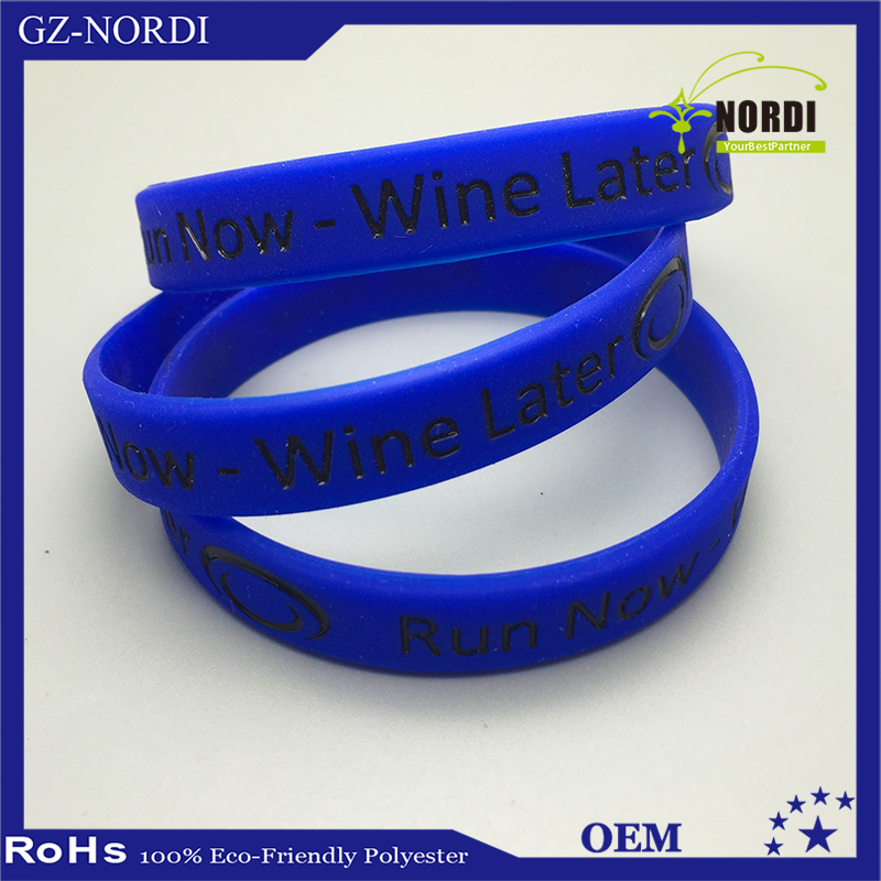 sport armband and rubber bracelet