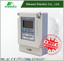 Hot Sale Single Phase Prepaid Energy Meter Customized Electric Power Meter