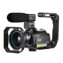 Professional home use SUPER 4k DIGITAL VIDEO CAMERA with 3.0'' Touch display wifi digital camcorder