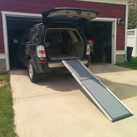 6ft Telescopic Pet Ramp