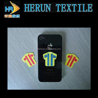 3*3CM Display Cleaner Sticker Microfiber Adhensive Sticky Mobile Phone Screen Cleaner Wipe