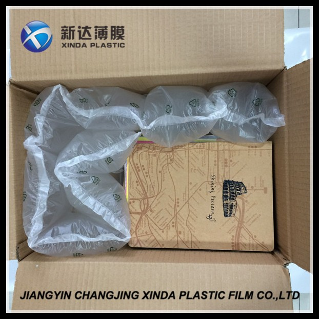 Shockproof Cushioned Air Film For Packing,Waterproof PE Air Bladder Bag For Protecting