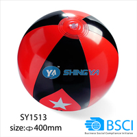 2016 promotional inflatable beach ball (BSCI factory)