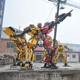 Large size metal Transformer Statue Sculpture