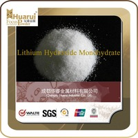 high purity lithium hydroxide monohydrate for lithium Battery cathode material