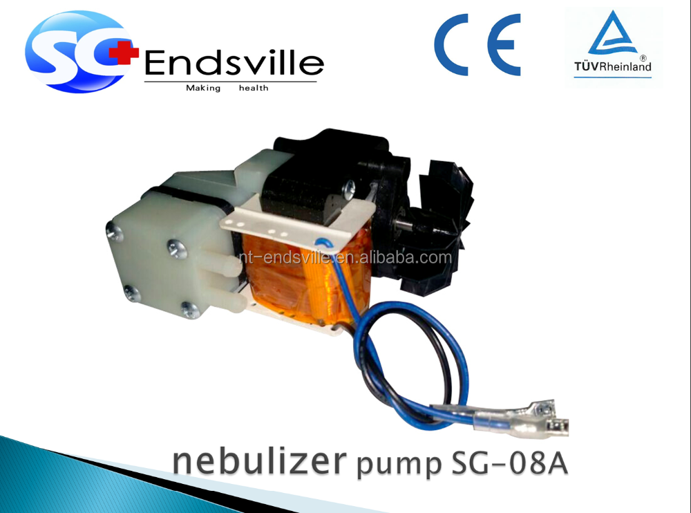 small electric nebulizer motor for common market
