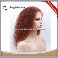 alibaba express Can be dyed auburn color hair wigs for young women