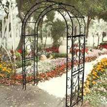 wrought iron garden rose arch design 2016 new unique white wedding metal arch with gate