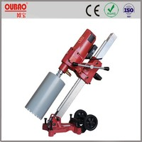 OUBAO portable electric wet concrete diamond drilling products OB-255B