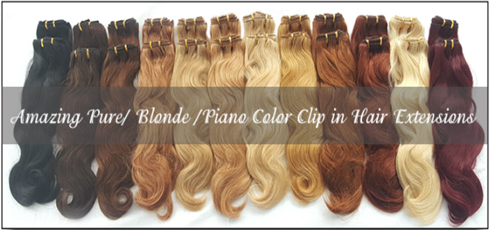 8 Pieces 100g Cheap Human Hair Weave Color Light Brown 8 Topper