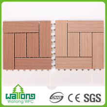 Good quality long lasting 300x300mm DIY square cheap composite decking material