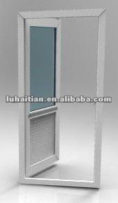 Bathroom Upvc Doors modern design upvc bathroom door/toilet door with good ventilation