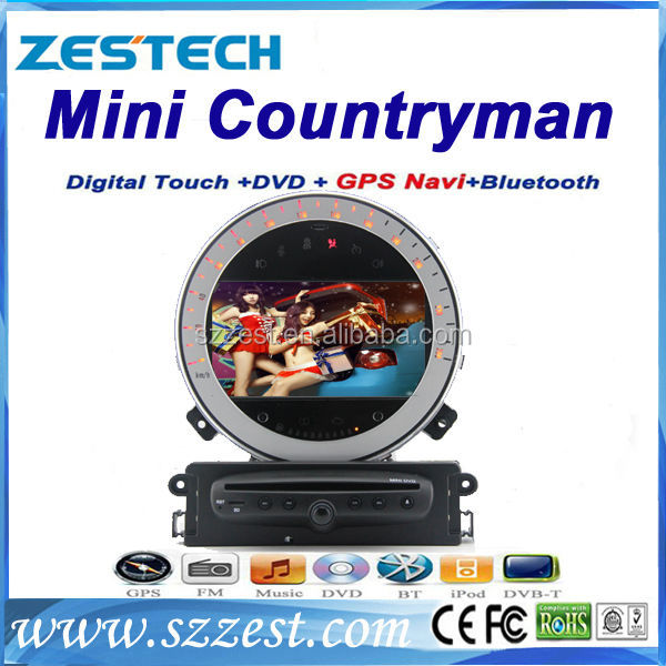 ZESTECH Wholesales In Car dvd for BMW mini cooper/ Countryman 2 din car dvd player with car dvd gps