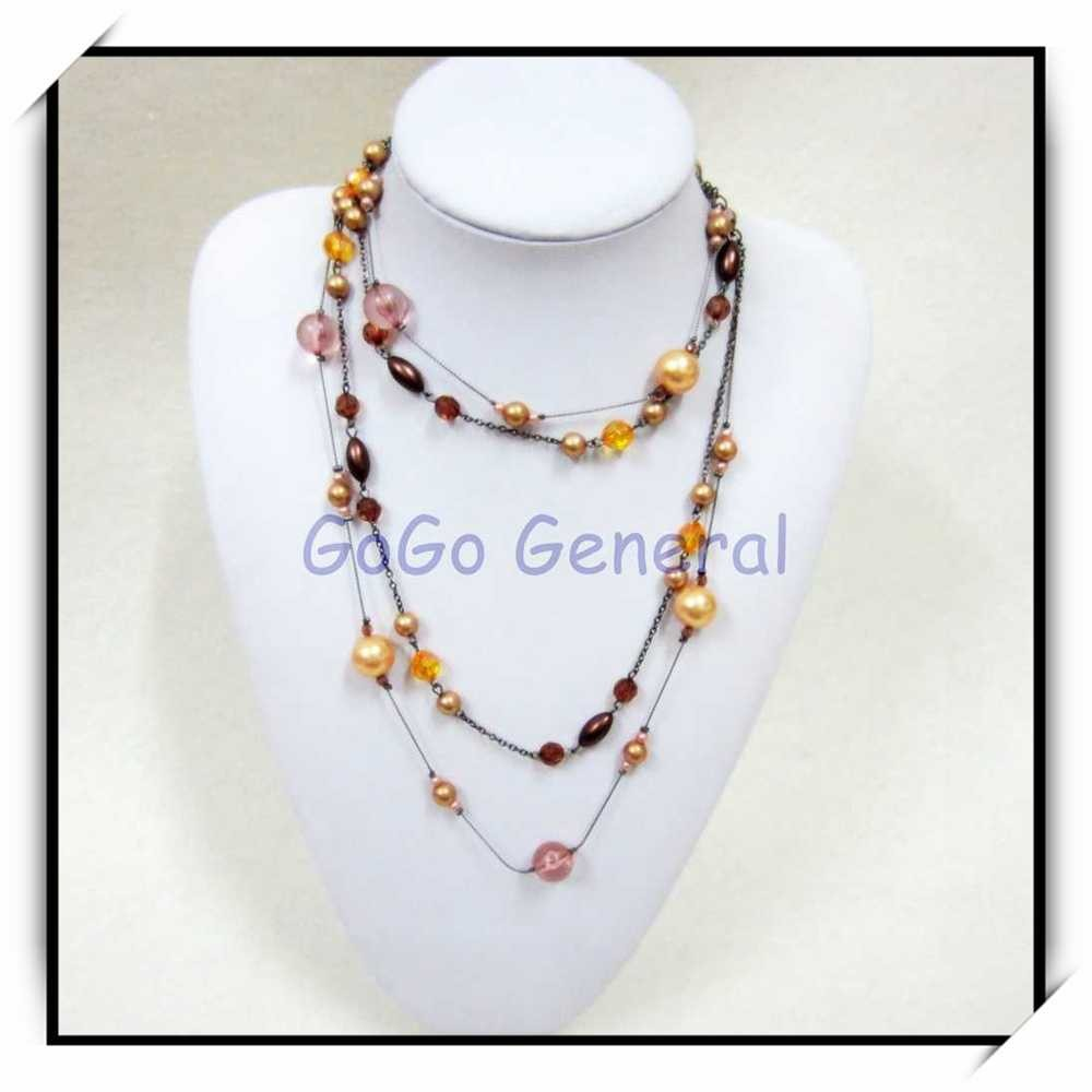 Mix Beads Necklace Wholesale Fashion Jewelry Dozen
