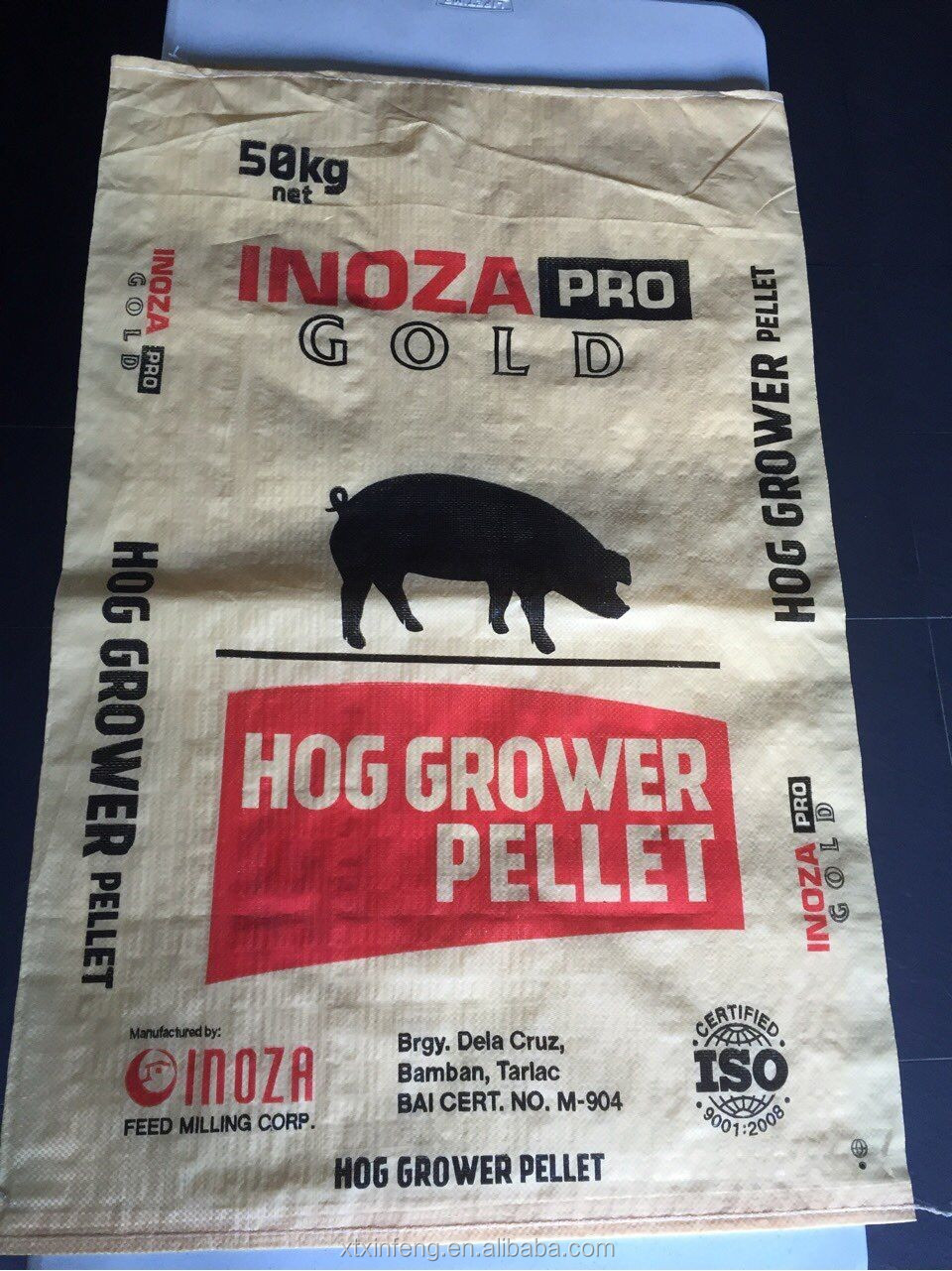 hot selling cattle chicken animal feed plastic bags with ce certificate