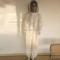 Peffer supply 3 layer ventilated beekeeper suit beekeping protective clothing