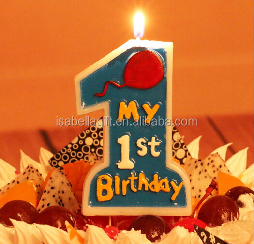 New style birthday candle.party candle.number candle