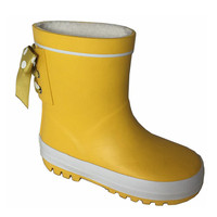 New stylish rain western rubber boots in cheap price for kids