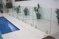 best price modern design frameless balustrade glass clip with reasonable price factory supplier