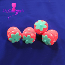 Large Fashionable hair beauty Strawberry foam perm hair rollers