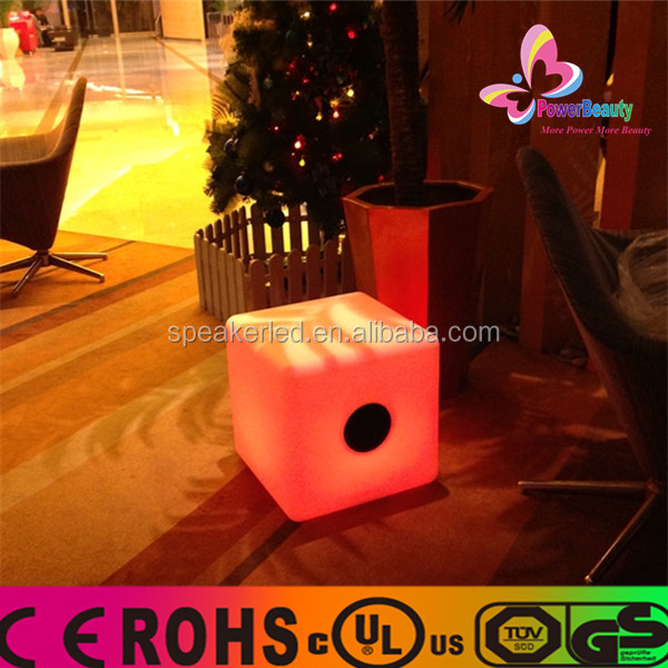 2015 high fidelity mini big audio bulk best concert cube bluetooth speakers and loudspeaker with strobe light