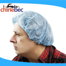 Disposable PP Nonwoven Surgical Bouffant Cap/Clip Cap/Fabric Hair Net