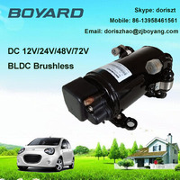portable air conditioner accessory r134a boyard dc 12v 24v brushless ev scroll auto ac compressor