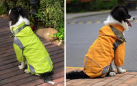 polyester waterproof dog pet rain jackets