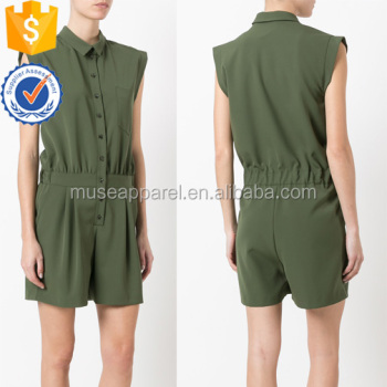 New Fashion Khaki Green Cap Sleeve Summer Shirt Jumpsuit Women Apparel Wholesaler China Alibaba