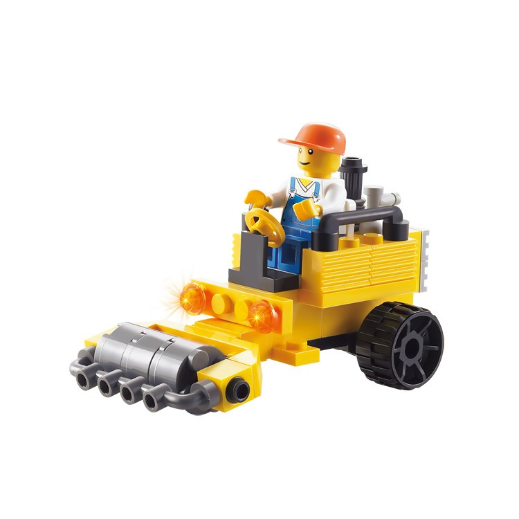 baby shop diy christmas gifts road roller plastic building blocks