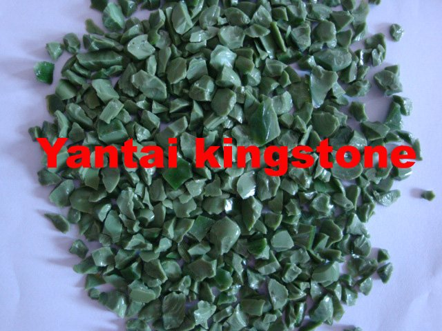 Casting glass powder