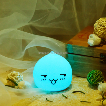 Waterdrop Silicone Light Colour Led for Kids