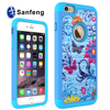Hot Selling New Style Telephone Case For iphone 6 plus,For iphone 6 5.5 inch Case with color painting